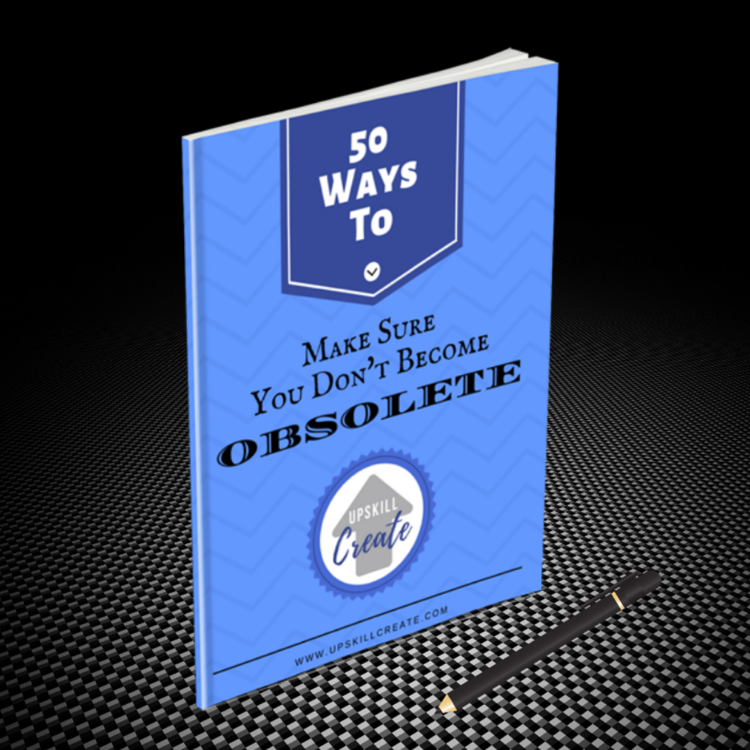 50 Ways to make sure you don't become obsolete mini ebook