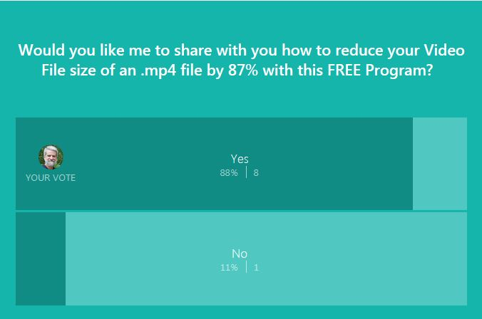 video file size reduction poll