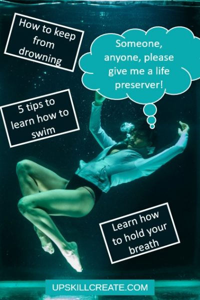 drowning - 5 tips how to swim